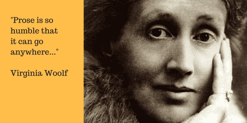 Virginia Woolf on Prose